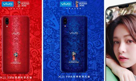 Vivo X21 World Cup Edition Vivo X21i