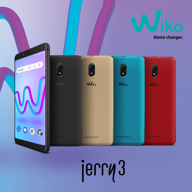 Wiko Jerry 3 All Colors