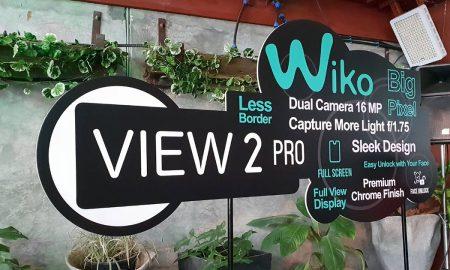 Wiko View2 Pro Head
