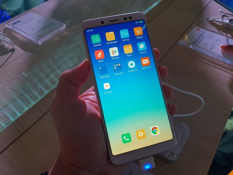 Xiaomi Redmi Note 5 Hands-on