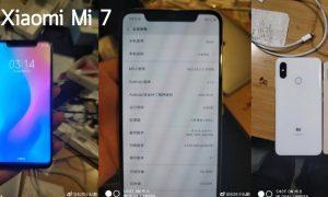 Xiaomi Mi 7 leak