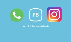 facebook f8 whatsapp instagram