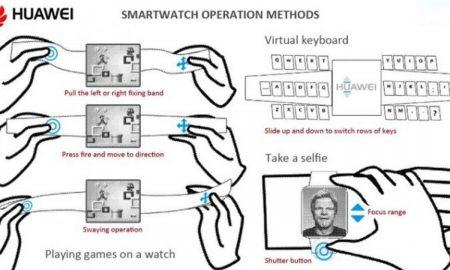 huawei gaming smartwatch patent