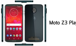 moto Z3 Play black