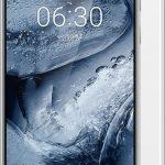 Nokia X6 Silver White