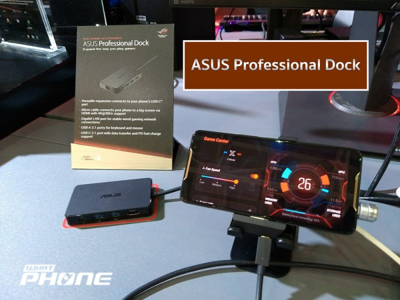 ASUS Professional Dock For ROG Phone