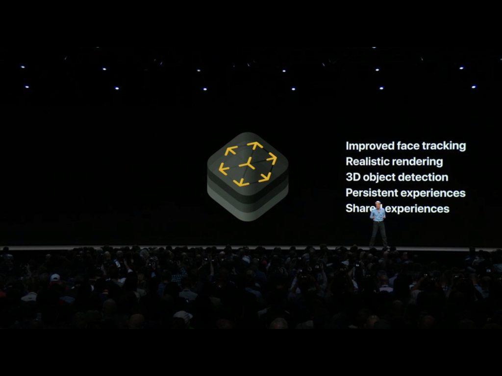 ar kit iOS 12 WWDC 2018