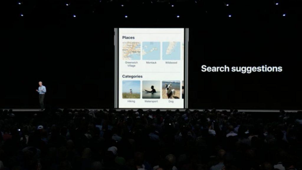 search iOS 12 WWDC 2018