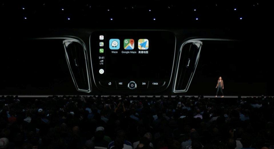 apple car play iOS 12 WWDC 2018