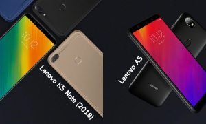 Lenovo K5 Note 2018 and Lenovo A5