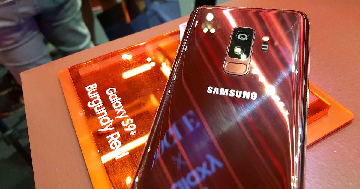 Samsung Galaxy S9 Plus Burgundy Red