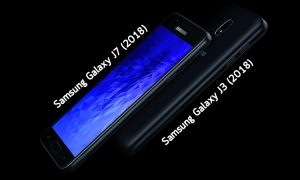 Samsung Galaxy J3 (2018) and Samsung Galaxy J7 (2018)
