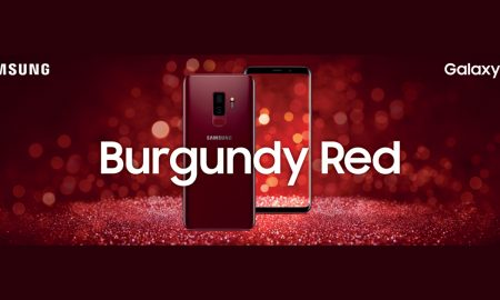 Samsung Galaxy S9 Plus สีใหม่ Burgundy Red