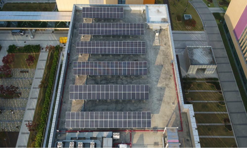 Samsung Head Quarter Solar Cell