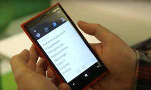 Twitter Windows Phone 8.1