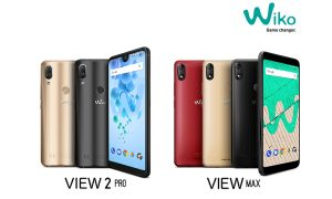 WIko View2 Pro and Wiko ViewMax
