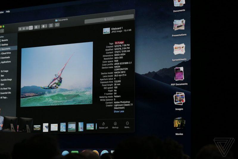 Apple เปิดตัว WatchOS 5, AppleTV 4K HDR และ macOS Mojave