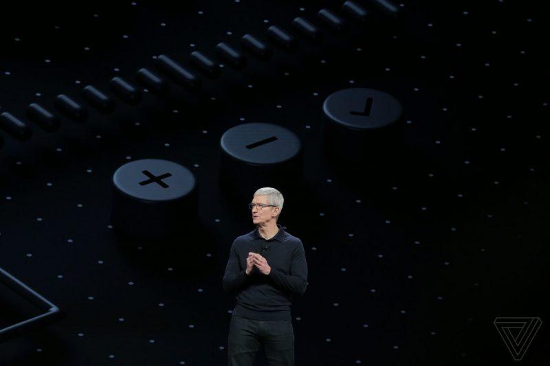 apple_WWDC_2018 Tim Cook