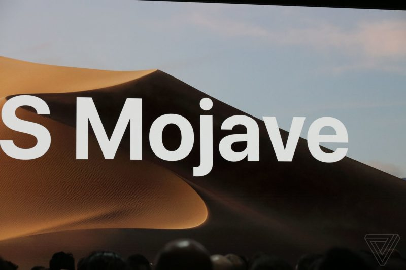 apple_WWDC_2018 macOs Mojave