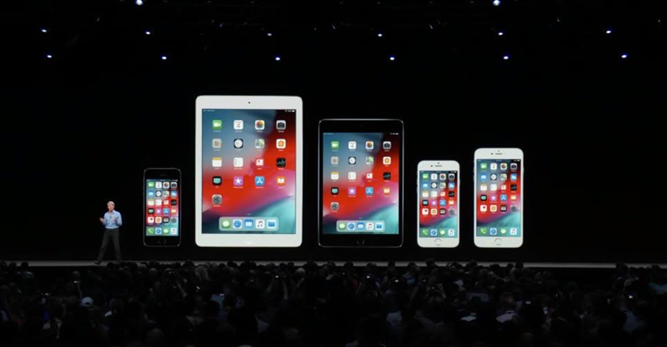 apple devices iOS 12 WWDC 2018