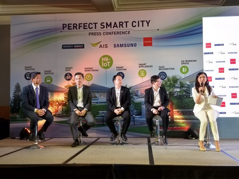 perfect smart city AIS