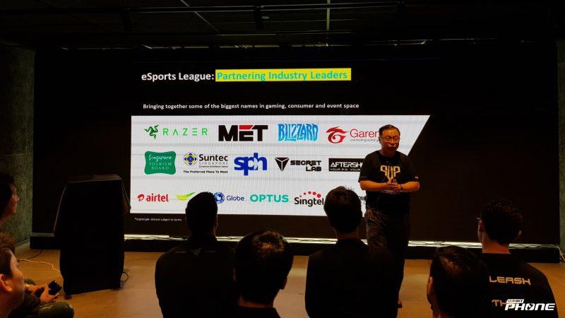 Arthur Lang CEO International Group แห่ง Singtel ได้มาพูดคุยเกี่ยวกับการทำงานร่วมกันระหว่าง Singtel และพาร์ทเนอร์ ถึงการจัดงาน eSports ในครั้งนี้