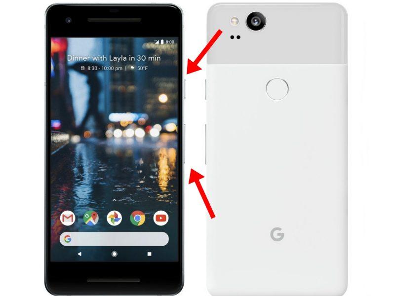 Google Pixel 2 Screen Capture