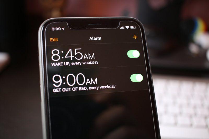 iPhone X Notification Bar