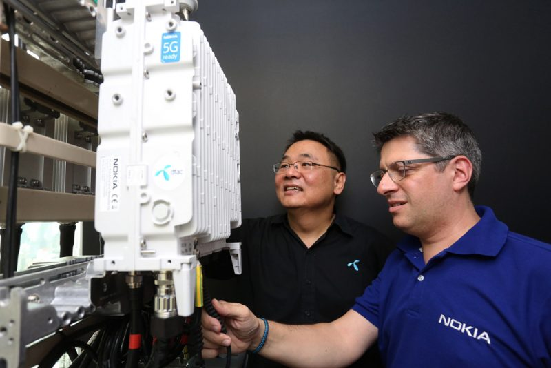 Nokia and dtac deploy first 4G TDD network for mass commercial use in Thailand
