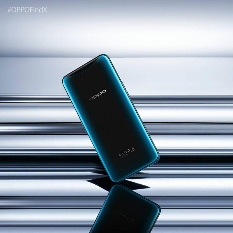 Oppo Find X Glacier Blue