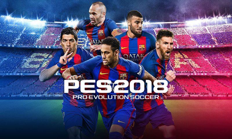 PES2018 หรือPro Evolution Soccer 2018