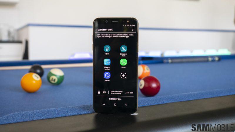 Samsung Emergency Mode - 3