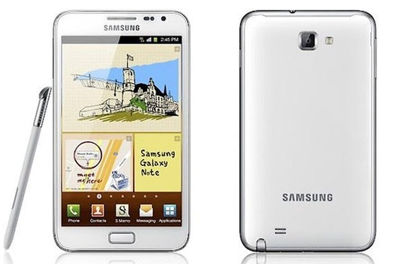 Samsung Galaxy Note - White