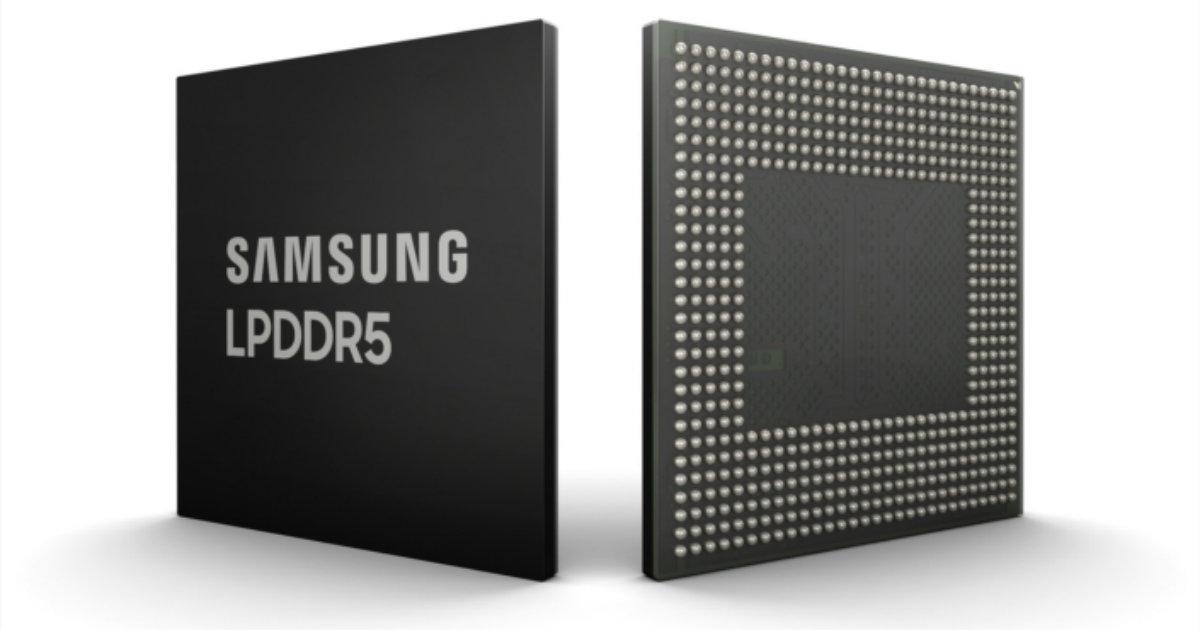 Samsung LPDDR5 Memory
