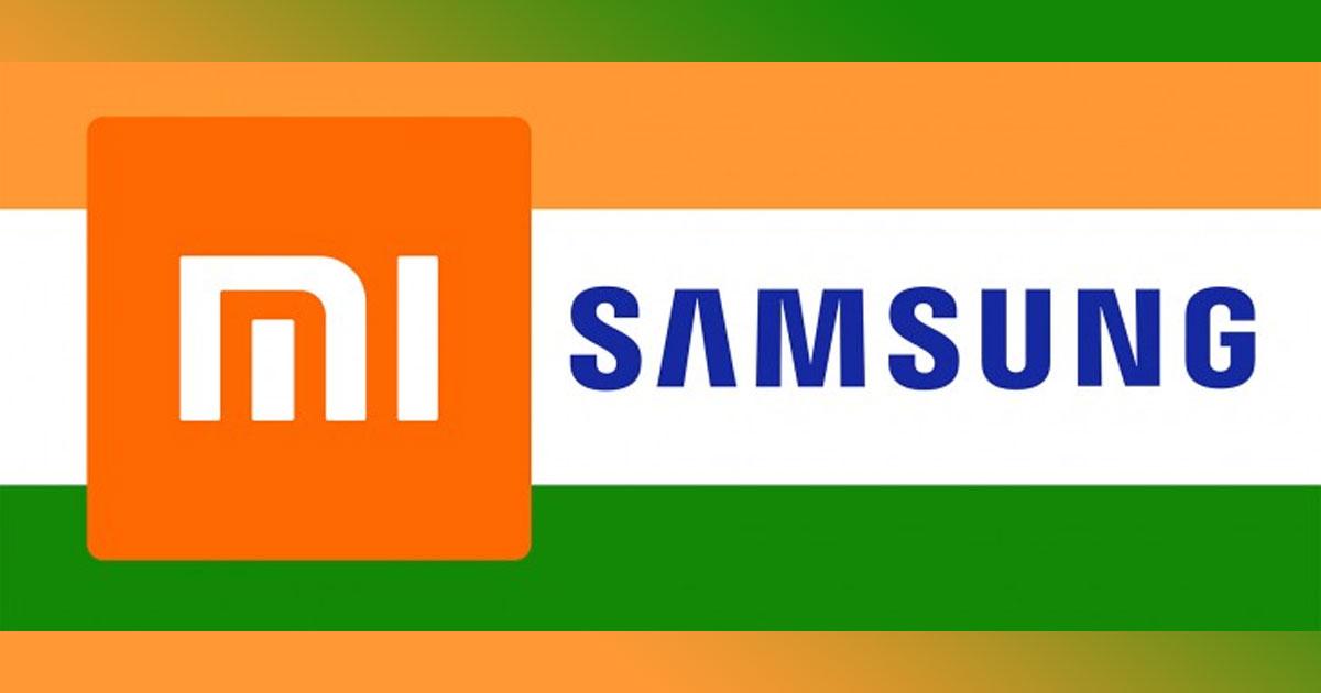 Samsung Shipment in India No.2 Q2 2018