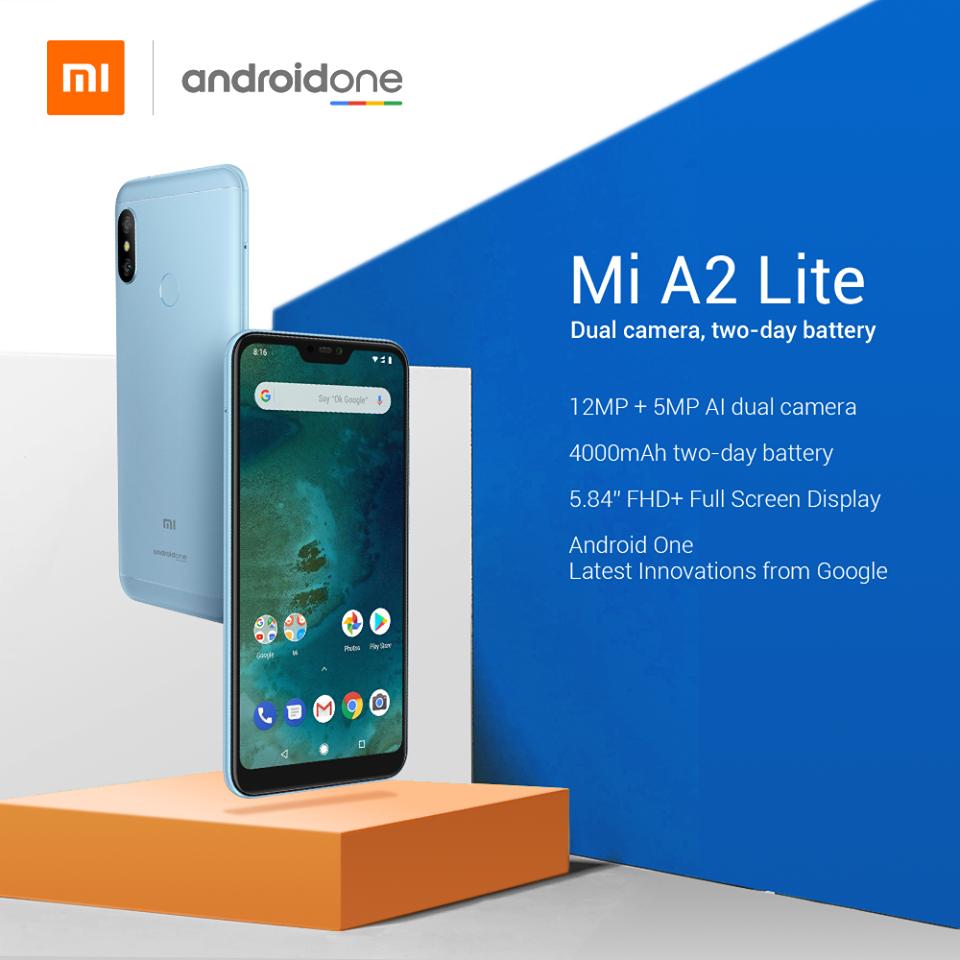Xiaomi Mi A2 Lite Spec