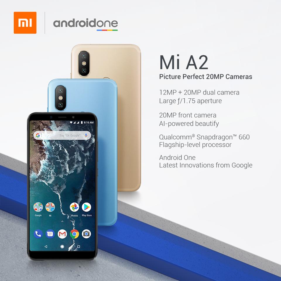 Xiaomi Mi A2 Spec
