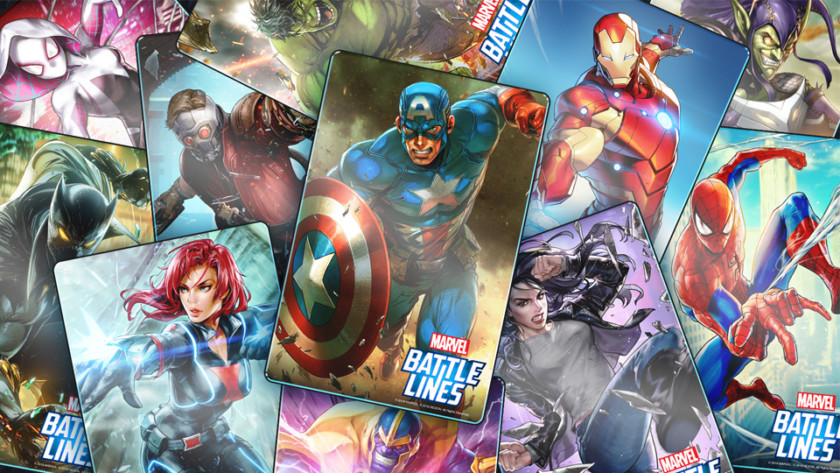 Marvel battle line