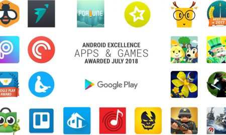 Best Android App July 2018