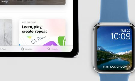 iPad Pro and Apple Watch 2018