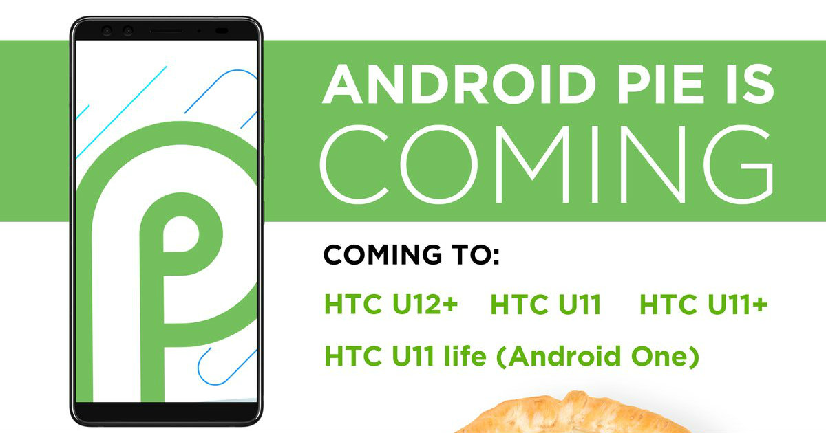 Android 9 Pie HTC