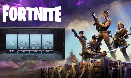 Fortnite Galaxy Note 9
