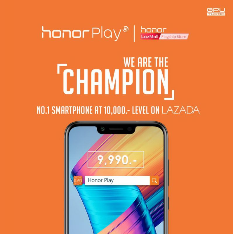 Honor Play - Play With Honor Lazada