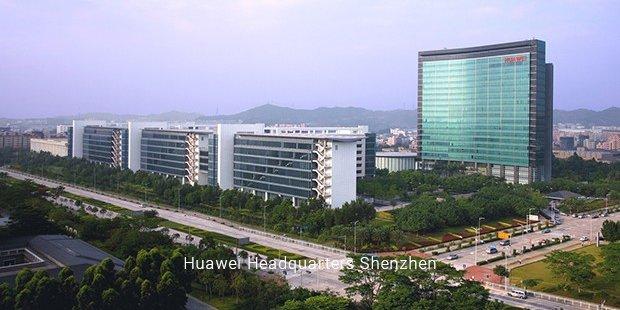 สำนักงานใหญ่ Huawei ที่ เซิ่นเจิ้น