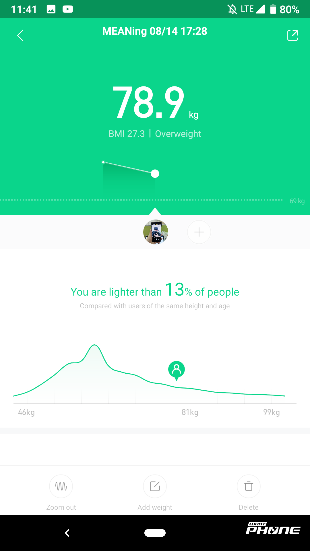 Mi Fit App with Xiaomi Mi Band 3 (14)