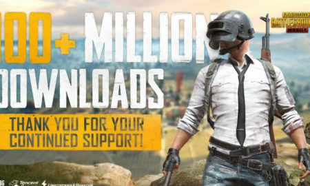 PUBG Mobile 100 Million Download