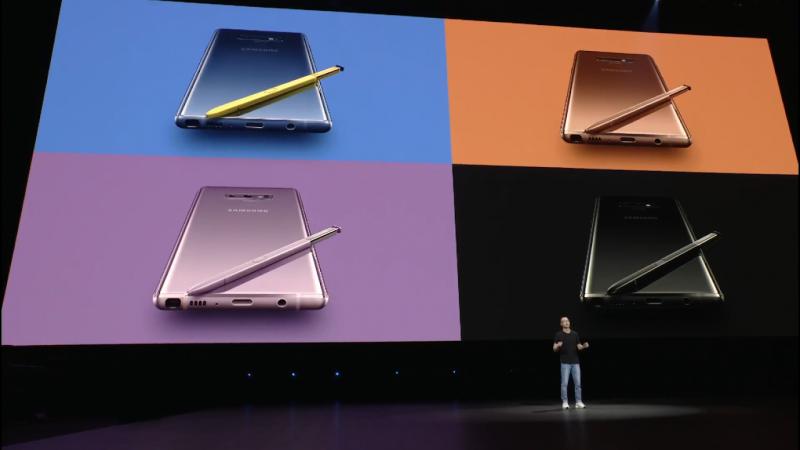 Samsung Galaxy Note 9 Color