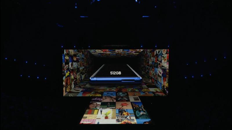 Samsung Galaxy Note 9 Storage