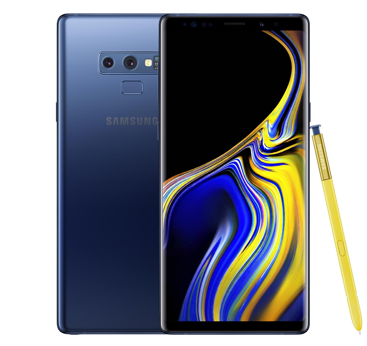 Samsung Galaxy Note 9 – Ocean Blue