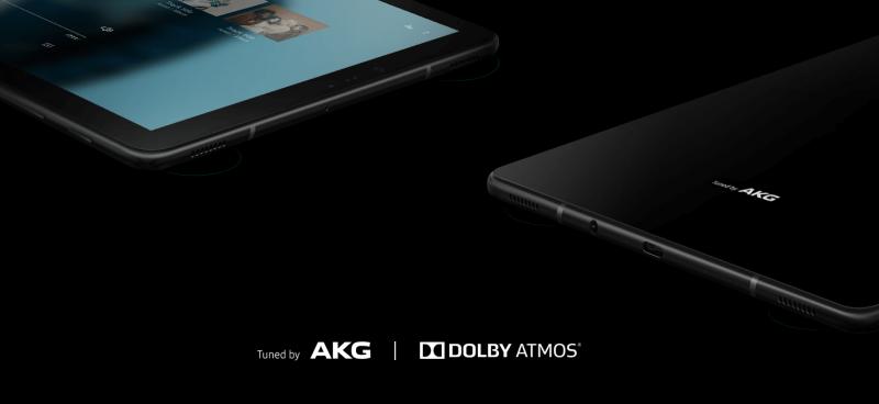 Samsung Galaxy Tab S4 with Quad AKG Speaker
